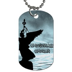 Berlin Dog Tag (one Side) by Valentinaart