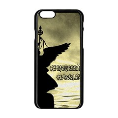 Berlin Apple Iphone 6/6s Black Enamel Case by Valentinaart