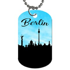 Berlin Dog Tag (two Sides)