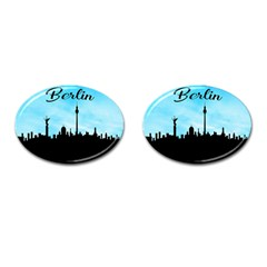 Berlin Cufflinks (oval) by Valentinaart