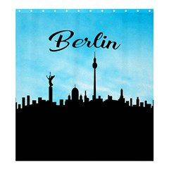 Berlin Shower Curtain 66  X 72  (large)