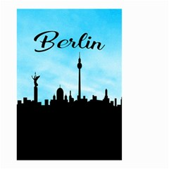 Berlin Small Garden Flag (two Sides) by Valentinaart