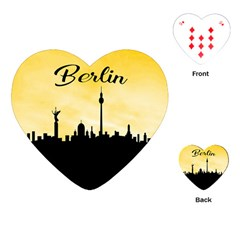 Berlin Playing Cards (heart)  by Valentinaart