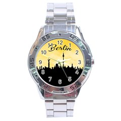 Berlin Stainless Steel Analogue Watch by Valentinaart