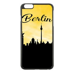 Berlin Apple Iphone 6 Plus/6s Plus Black Enamel Case