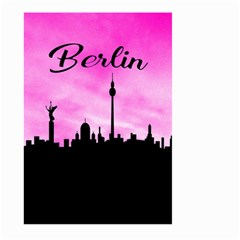 Berlin Large Garden Flag (two Sides) by Valentinaart