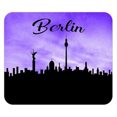 Berlin Double Sided Flano Blanket (small)  by Valentinaart