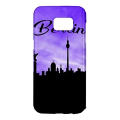 Berlin Samsung Galaxy S7 Edge Hardshell Case by Valentinaart