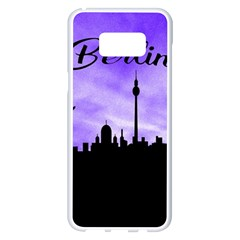 Berlin Samsung Galaxy S8 Plus White Seamless Case by Valentinaart