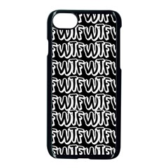 Wtf Apple Iphone 7 Seamless Case (black) by Valentinaart