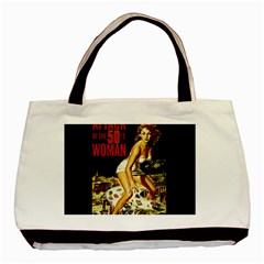 Attack Of The 50 Ft Woman Basic Tote Bag (two Sides) by Valentinaart