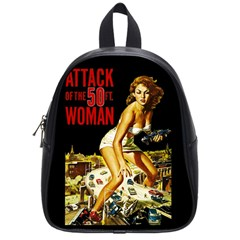 Attack Of The 50 Ft Woman School Bags (small)