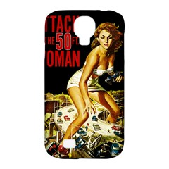Attack Of The 50 Ft Woman Samsung Galaxy S4 Classic Hardshell Case (pc+silicone)