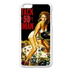 Attack Of The 50 Ft Woman Apple Iphone 6 Plus/6s Plus Enamel White Case