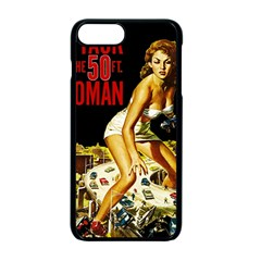Attack Of The 50 Ft Woman Apple Iphone 7 Plus Seamless Case (black) by Valentinaart