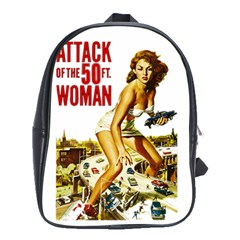 Attack Of The 50 Ft Woman School Bags(large)