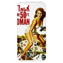 Attack Of The 50 Ft Woman Apple Iphone 5 Hardshell Case
