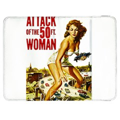 Attack Of The 50 Ft Woman Samsung Galaxy Tab 7  P1000 Flip Case by Valentinaart