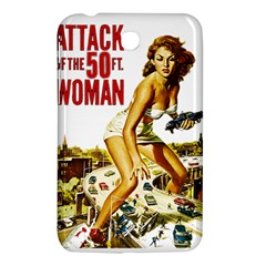 Attack Of The 50 Ft Woman Samsung Galaxy Tab 3 (7 ) P3200 Hardshell Case  by Valentinaart