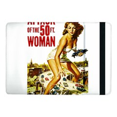 Attack Of The 50 Ft Woman Samsung Galaxy Tab Pro 10 1  Flip Case by Valentinaart