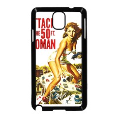 Attack Of The 50 Ft Woman Samsung Galaxy Note 3 Neo Hardshell Case (black)