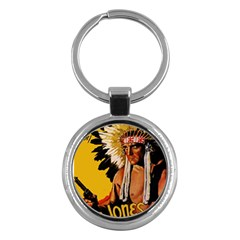 White Eagle Key Chains (round)  by Valentinaart