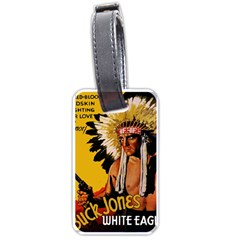 White Eagle Luggage Tags (two Sides)