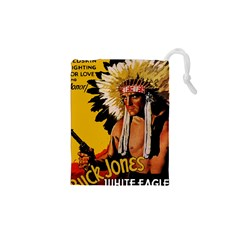 White Eagle Drawstring Pouches (xs)  by Valentinaart