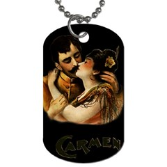 Carmen Dog Tag (one Side) by Valentinaart