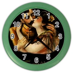 Carmen Color Wall Clocks by Valentinaart