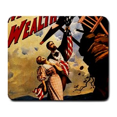 The War Of Wealth Large Mousepads