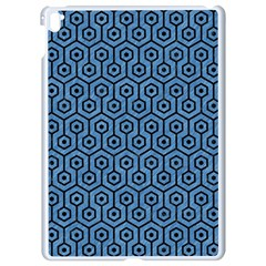 Hexagon1 Black Marble & Blue Colored Pencil (r) Apple Ipad Pro 9 7   White Seamless Case by trendistuff