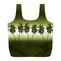 Tropical Sunset Full Print Recycle Bags (l)