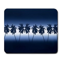 Tropical Sunset Large Mousepads by Valentinaart