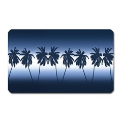 Tropical Sunset Magnet (rectangular) by Valentinaart