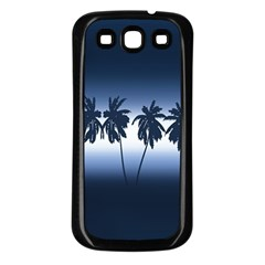Tropical Sunset Samsung Galaxy S3 Back Case (black)
