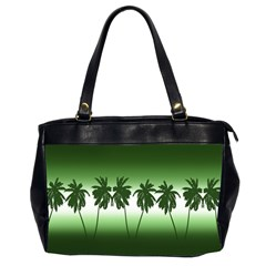 Tropical Sunset Office Handbags (2 Sides)