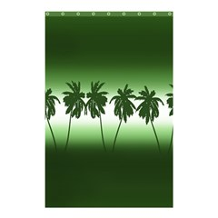 Tropical Sunset Shower Curtain 48  X 72  (small)