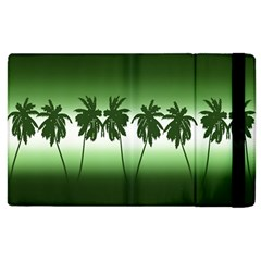 Tropical Sunset Apple Ipad 2 Flip Case by Valentinaart