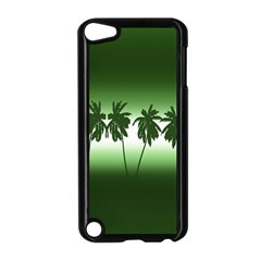 Tropical Sunset Apple Ipod Touch 5 Case (black)