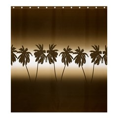 Tropical Sunset Shower Curtain 66  X 72  (large)