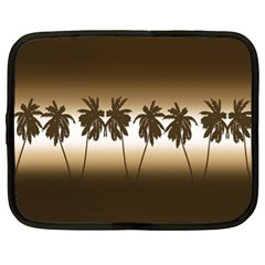 Tropical Sunset Netbook Case (xl)  by Valentinaart