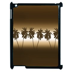 Tropical Sunset Apple Ipad 2 Case (black) by Valentinaart