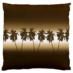 Tropical Sunset Standard Flano Cushion Case (one Side)