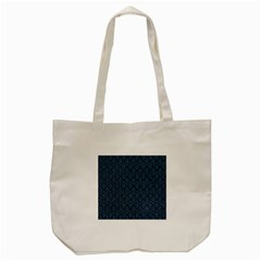 Hexagon1 Black Marble & Blue Colored Pencil Tote Bag (cream) by trendistuff