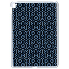 Hexagon1 Black Marble & Blue Colored Pencil Apple Ipad Pro 9 7   White Seamless Case by trendistuff