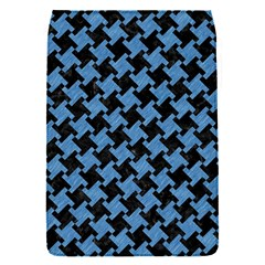 Houndstooth2 Black Marble & Blue Colored Pencil Removable Flap Cover (s) by trendistuff