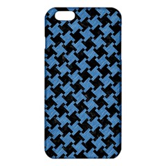 Houndstooth2 Black Marble & Blue Colored Pencil Iphone 6 Plus/6s Plus Tpu Case by trendistuff