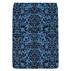 Damask2 Black Marble & Blue Colored Pencil (r) Removable Flap Cover (s) by trendistuff