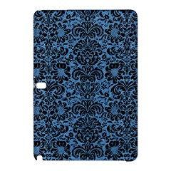 Damask2 Black Marble & Blue Colored Pencil (r) Samsung Galaxy Tab Pro 10 1 Hardshell Case by trendistuff